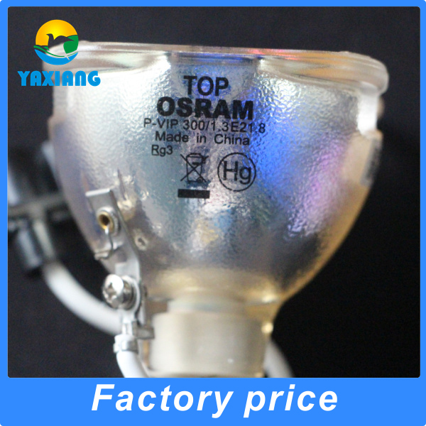 Фотография 100% Original Bare Lamp Bulb  5J.J2605.001 for Osram P-VIP 300/1.3 E21.8 for BENQ W5500 / W6000 / W6500 Projectors