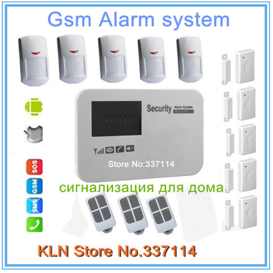 Gsm alarm systems security home ios android apps free download to control remotly.(China (Mainland))