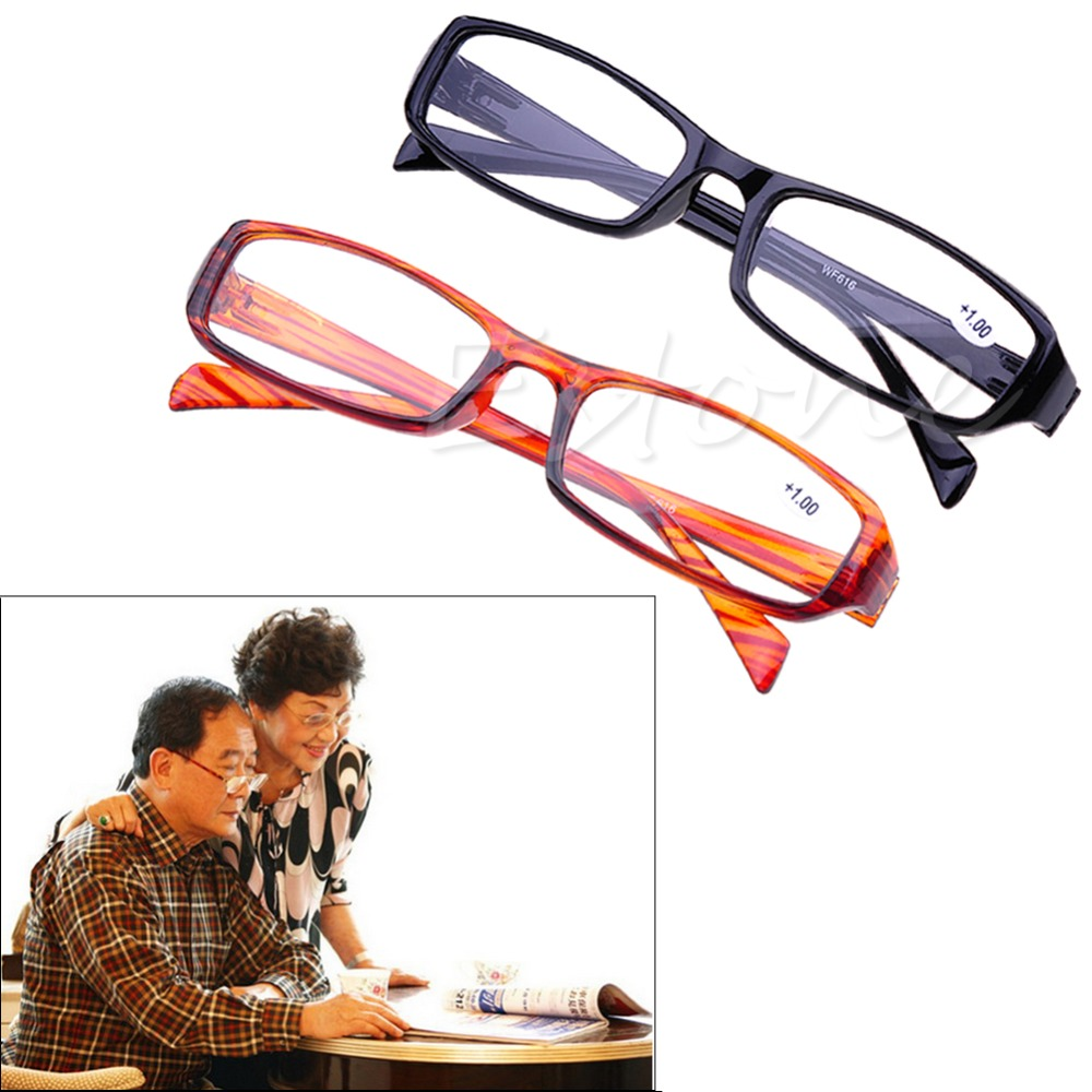 [LvDing] 1 Pc Of Black Brown Reading Glasses Readers Presbyopia +1.00 To 4.00 Diopter