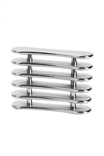 Silver Nail Art Makeup Brush Pen Holder Stand Rest Acrylic UV F#OS