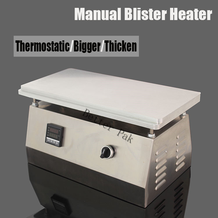 DSF4020 Manual blister sealing machine,small blister film heater,Cigarettes,cosmetics,poker box blister film packaging machine(China (Mainland))