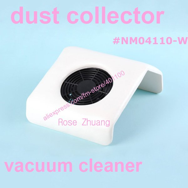 Mini Size Nail Art Dust Suction Collector Vacuum Cleaner with Hand Rest Design,comes with 2 bags[retail] SKU:E0200