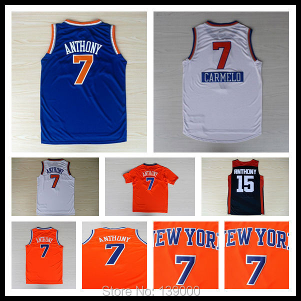 Гаджет  Fast Free Shipping NK Carmelo Anthony #7 Basketball Jersey, New Material Rev 30 Embroidery Basketball Jersey None Спорт и развлечения