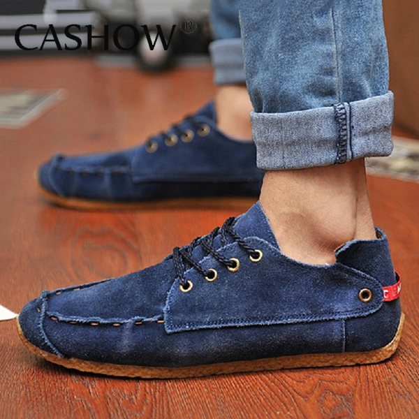 Free Shipping! 2014 New arrival Fashion Mens Suede Casual shoes men Slip On Flats footwear Loafer men sneakers promotion LS020