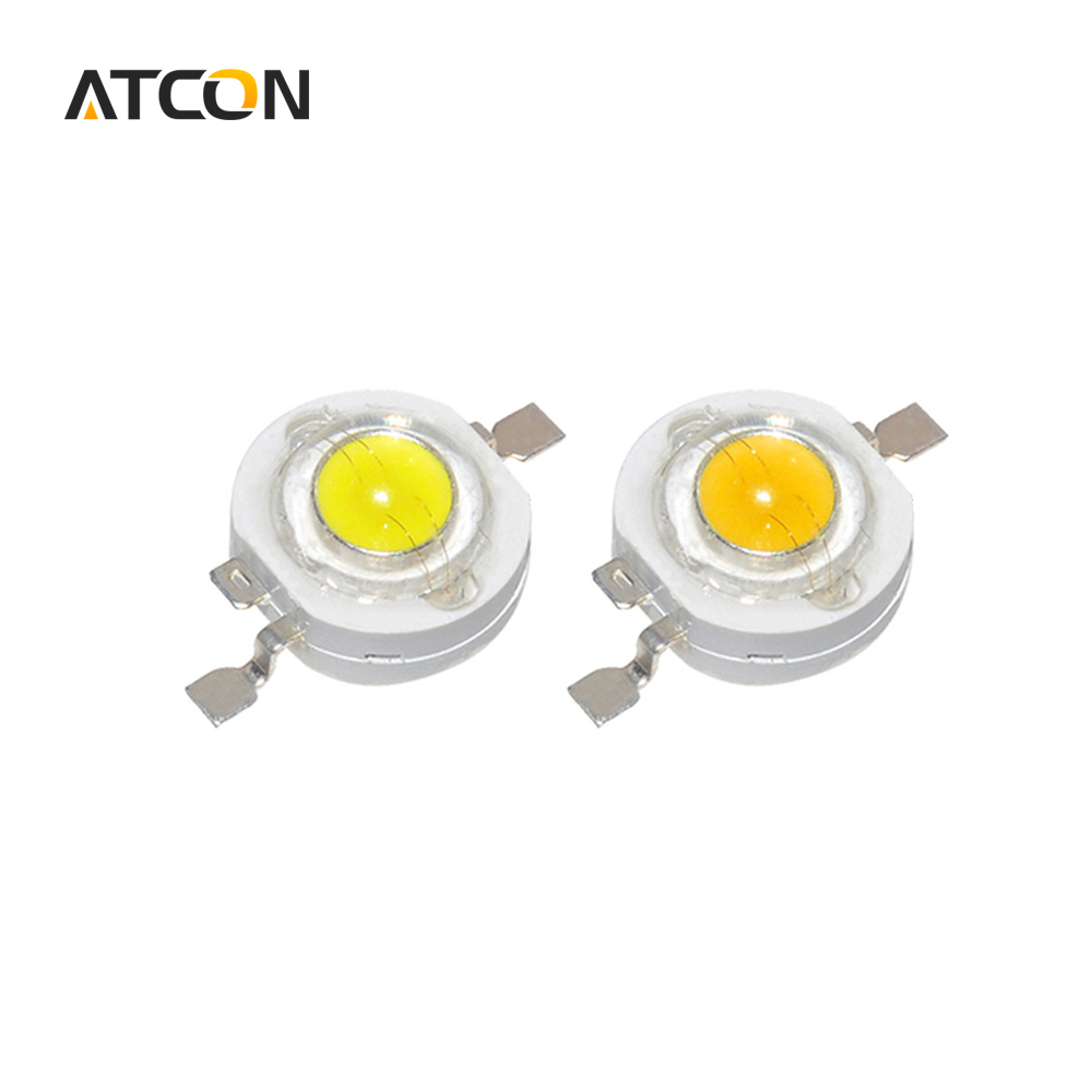 10pcs Real Full Watt CREE 1W 3W High Power LED lamp Bulb Diodes SMD 110-120LM LEDs Chip For 3W - 18W Spot light Downlight(China (Mainland))