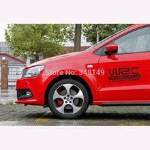 WRC FIA World Rally Championship Car Sticker Decal Reflective for Toyota Ford Chevrolet Volkswagen Tesla Honda