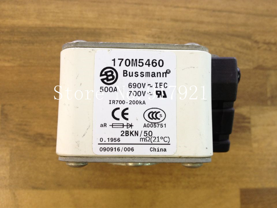 [ZOB] The United States Bussmann 170M5460 500A 690V fuse fuse original authentic<br>