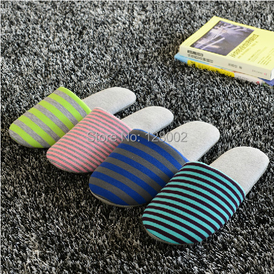 Autumn Winter Travel Aviation Hotel Home Cotton-Padded Folding Slippers Women Men Indoor\Floor Slippers With Bag Free Shipping<br><br>Aliexpress
