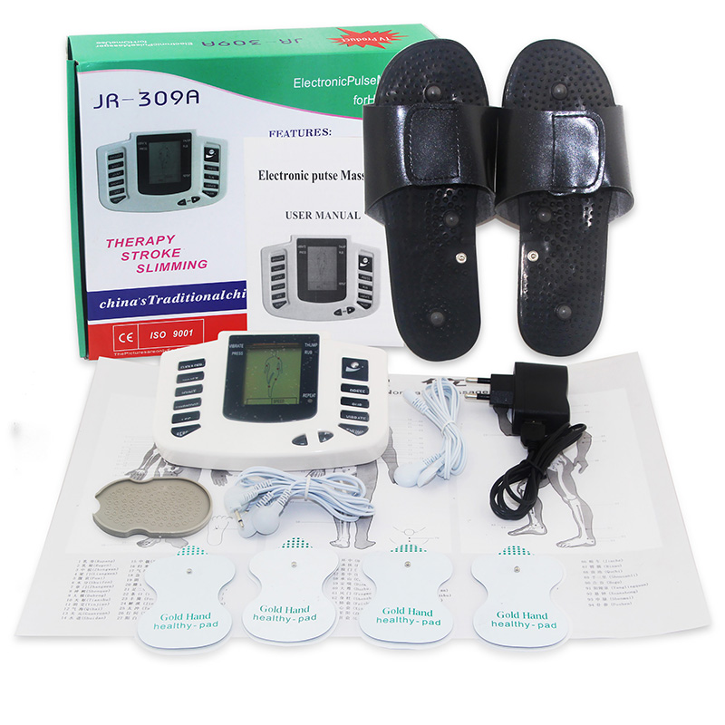Health Monitors !Electronic pulse massager Tens Acupuncture Therapy Machine Slimming Body Stimulator Sculptor massager 24pc/lot <br><br>Aliexpress