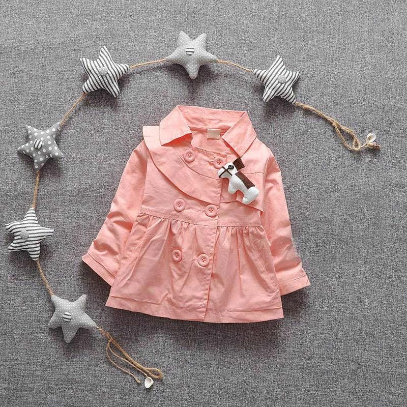 2015 Fashion Girls Double Breasted Hooded Cardigan baby kids Lace Coat Children Outwear Coats Trench With Cap S2072<br><br>Aliexpress