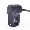 Free Shipping Brand New Aluminum Alloy Motorcycle Handlebar Switch with Indicator Light E A