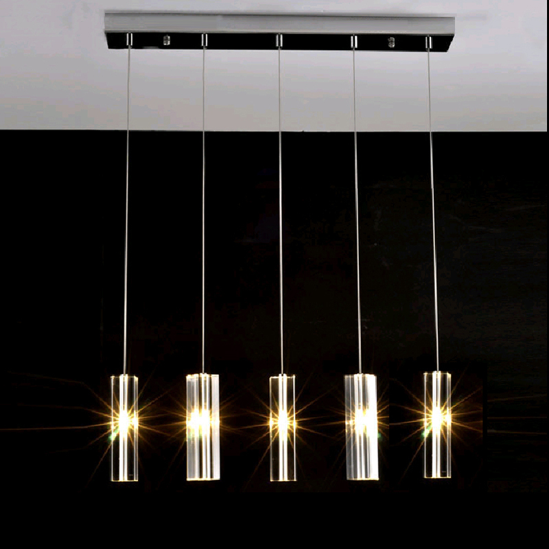 Hanging dining room lamp led pendant lights modern kitchen for Dining room 3 pendant lights