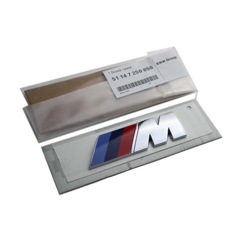 M performance / M power Car Sticker for 3 5 7 Series X1 X3 X5 X6 M3 M4 M5 F10 F20 F30 E90 E46 E39 E60 E34 E30 E53 for Bimmer(China (Mainland))