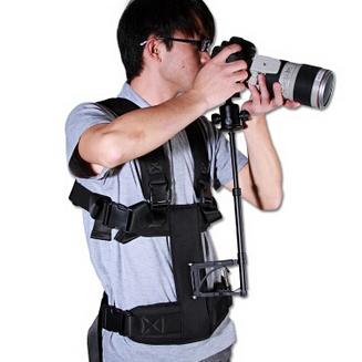 Maili 5D2 5D3 DSLR camera steadicam vest video steadycam camcorder movi stabilizer vest and hold support rod<br><br>Aliexpress