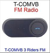100% Original Waterproof 1000M Motorcycle Intercom Wireless Bluetooth Interphone Helmet Headset BT-S2 With FM Radio