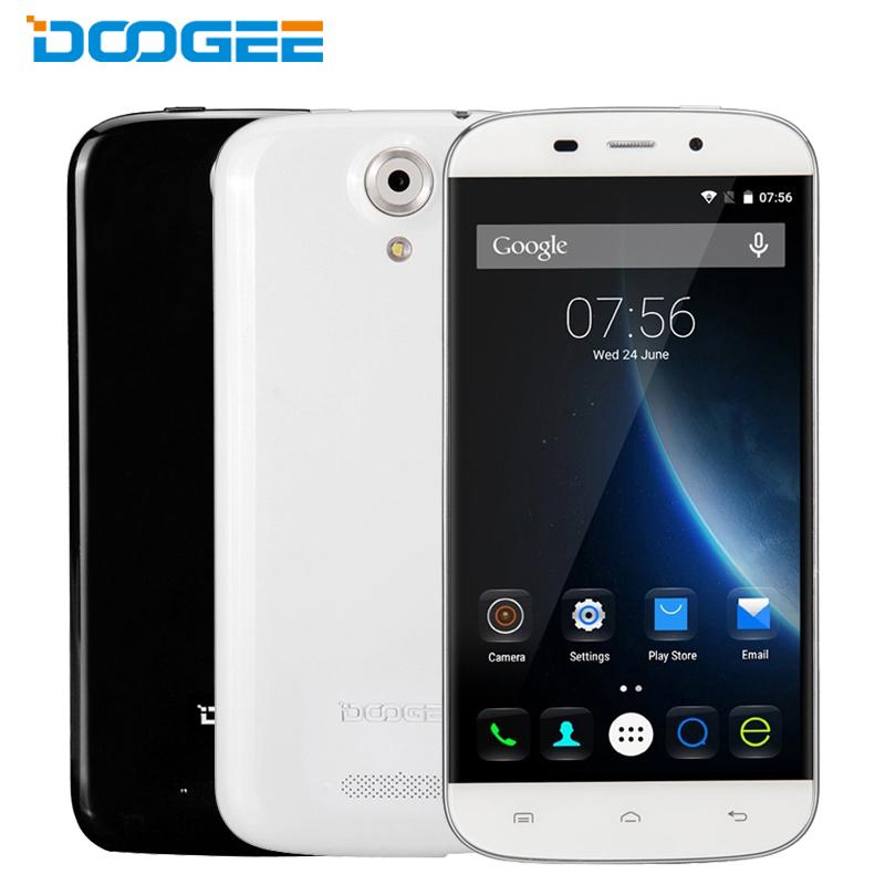 Original Doogee NOVA Y100X Cell Phone 1GB RAM 8GB ROM MTK6582 Quad Core 5 0 Android