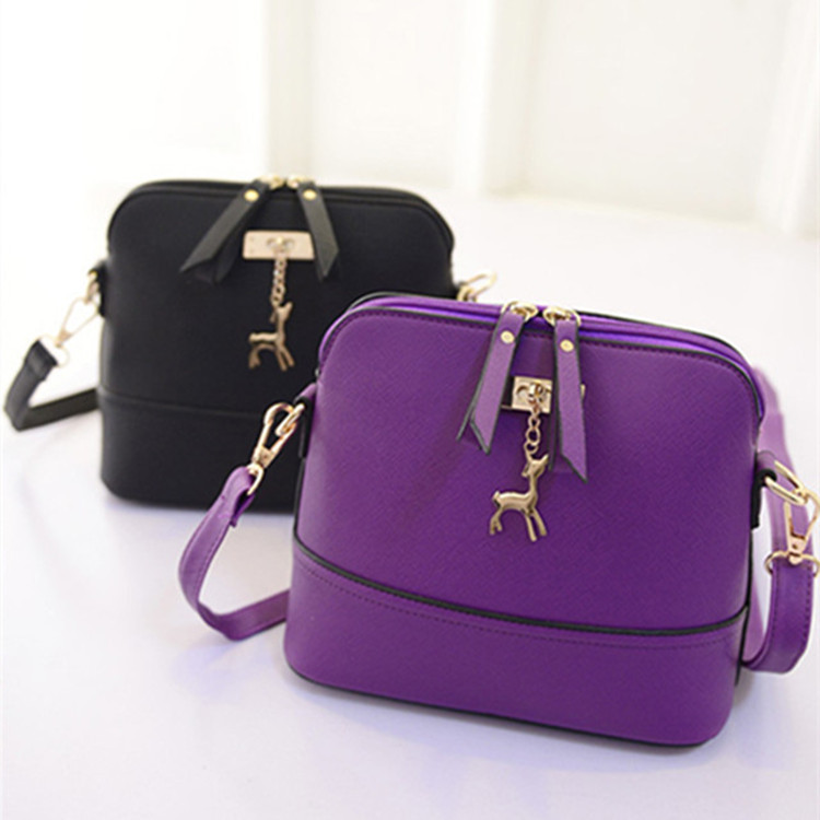 2015 women's messenger bags fashion vintage small Shell Pu Leather handbag new summer casual bag(China (Mainland))