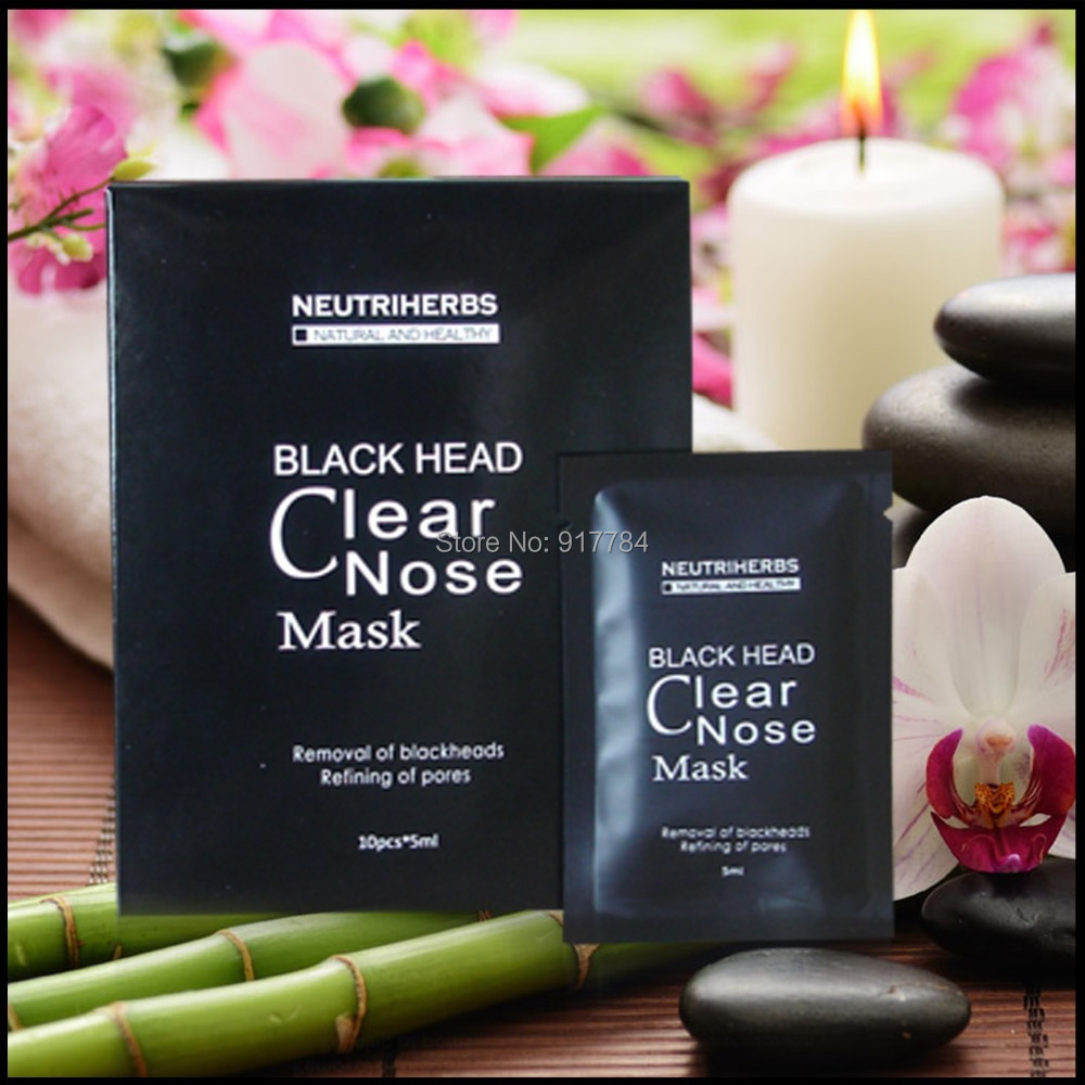 5ml/pc 30pcs/lot Face Black Head Cleaners Peel Off Mask Free Shipping By Singapore Post(China (Mainland))