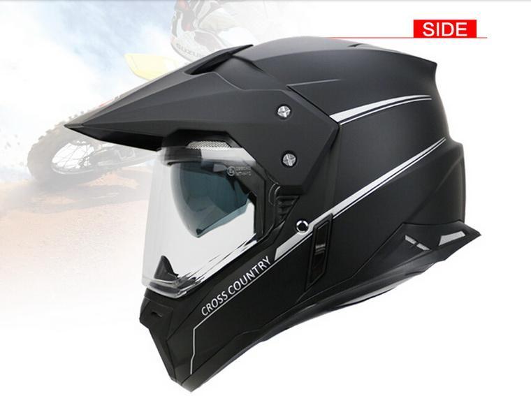 Купить 2016 Новый YOHE двойные линзы беговых мотоциклетный шлем зимой off road Мотоцикл шлемы, Изготовленные из ABS YH-628A L XL XXL