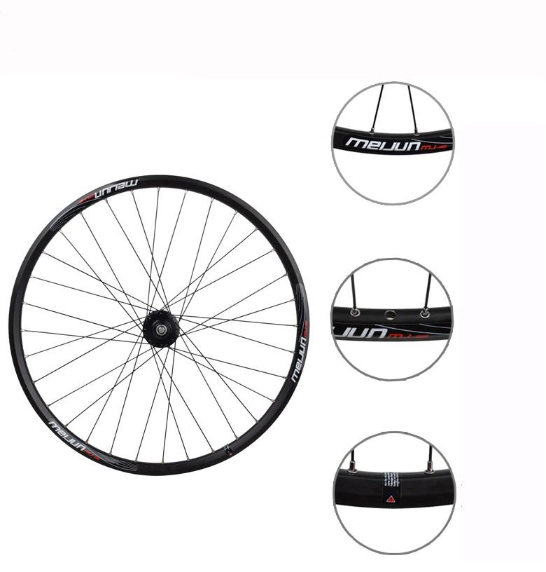 Buy MEIJUN 26'' inch 32 Holes MTB Mountain Bikes Road Bicycles Disc Brake Wheel Hubs Rim knife circle Wheelset Parts cheap