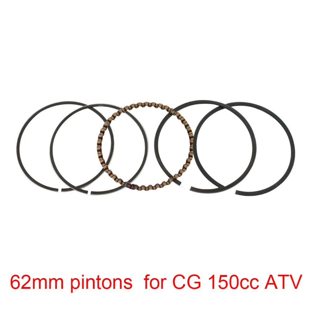 Goofit 62mm Piston Rings Set for CG 150cc ATV Dirt Bike & Go Kart motorcycle accessory piston pin ring K082-029(China (Mainland))