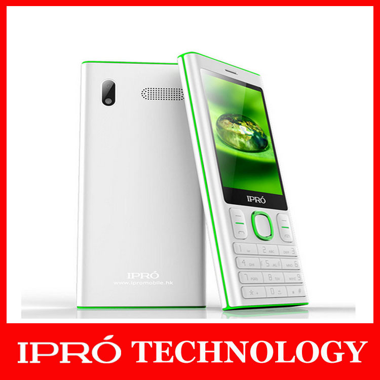 2015 New Ipro I3280 Original 2.8''Screen Mobile Phone Unlocked English/Spanish/Portuguese GSM Dual Sim WITH earphone cell phone(China (Mainland))
