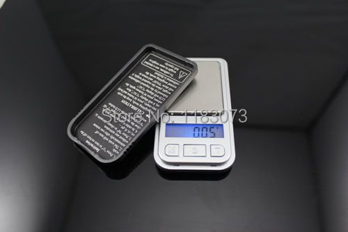 Mini Pocket Electronic Kitchen Scale LCD Display Digital Jewelry Bench Floor Weighing Scale New Design 10pcs/lot EMS(China (Mainland))