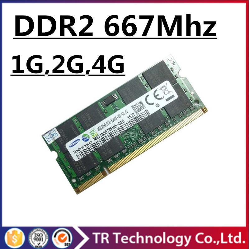 Sale ddr2 667Mhz 2gb 1gb 4gb pc2-5300 so-dimm laptop, ram ddr2 667 Mhz 2gb sdram pc2 5300 notebook, memory ram ddr2 2gb 667 dimm(China (Mainland))