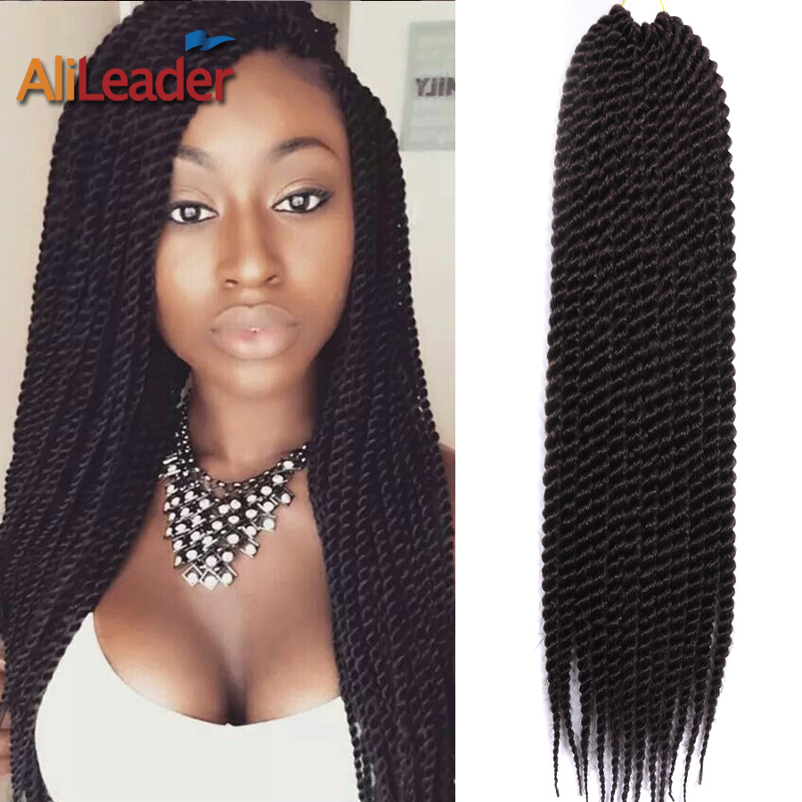Crochet Box Braids Review : Crochet Box Braids Hair 22 85G 12Roots Xpression Synthetic Braiding ...