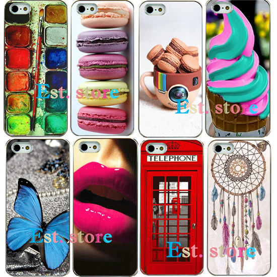 2015 new artistic UV print back cover for apple iphone 5 5S iphone5 style hard case latest design hot sell high quality rare(China (Mainland))