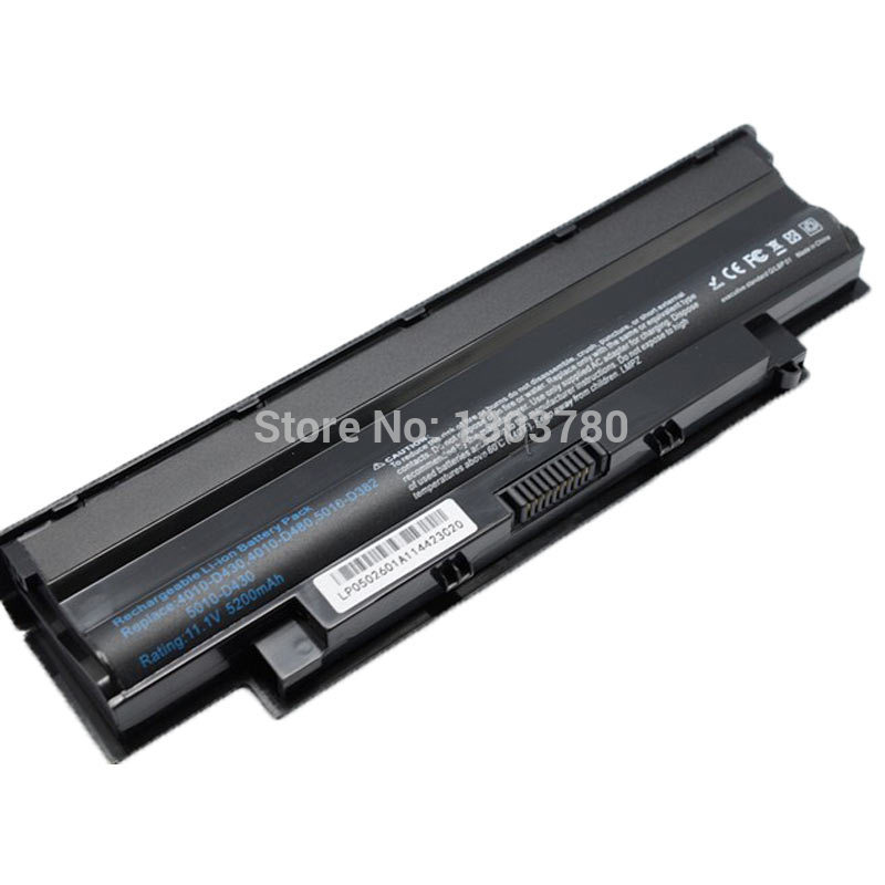 4400mAh Laptop battery for Dell Inspiron 13R 14R 15R  17R  M411R  M501  M501R  M511R  N3010  N3110  N4010  N4010D  N4050  N4110<br><br>Aliexpress