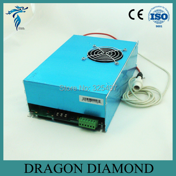 DY13 reci co2 power supply 100w for reci co2 laser tube w4 100w for co2 laser cutting machine(China (Mainland))
