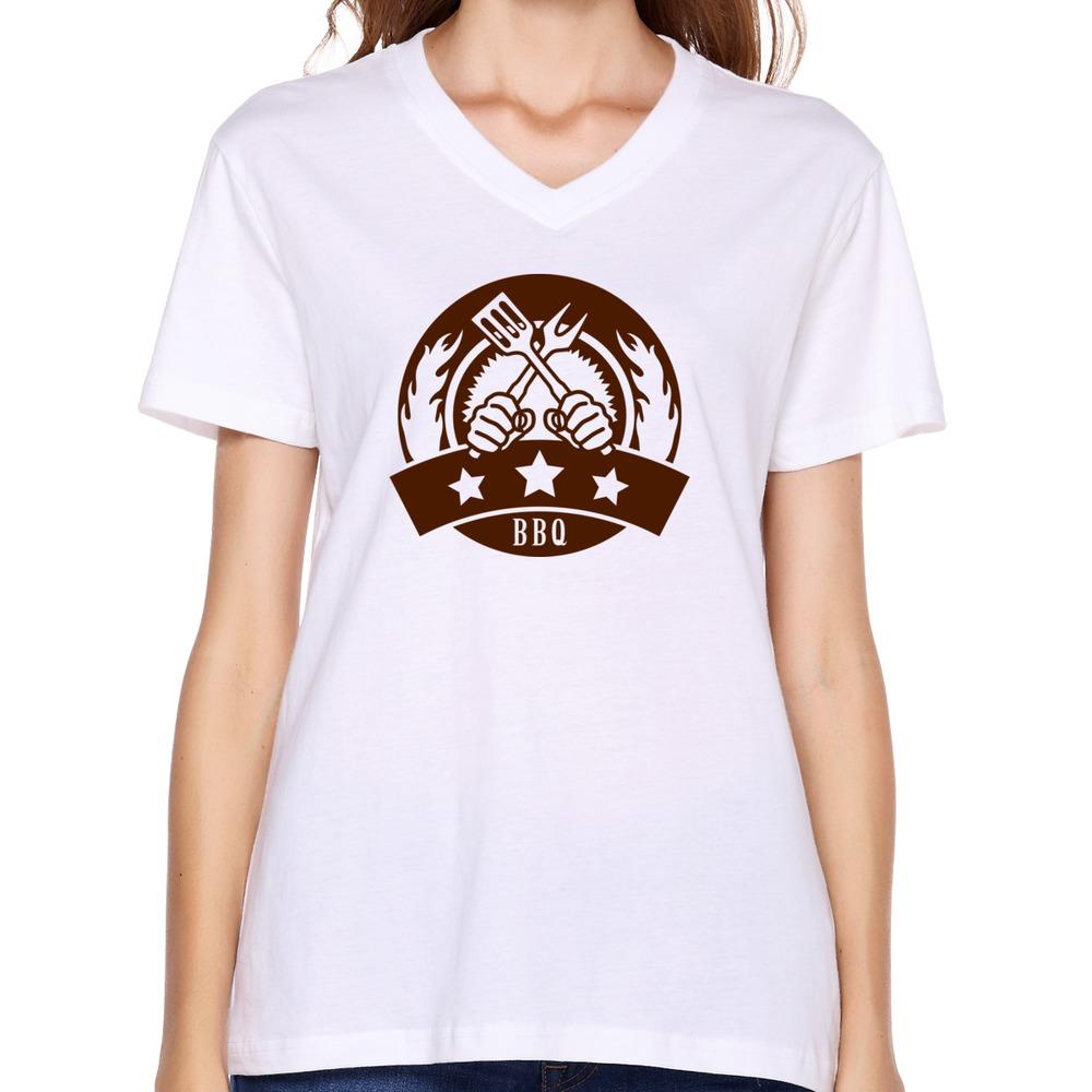 Adult Organic Cotton Cartoon Women 39 S Tee Shirt Geek Bbq