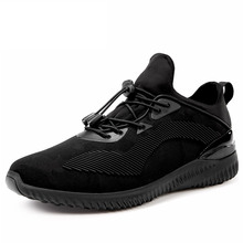 SERENE 2017 Men Shoes Male Shoes Yeezy Shoe Light Weight Elastic Lace-up Size 44 Black Breathable Mesh Comfort Wear Warm Fur9180(China (Mainland))