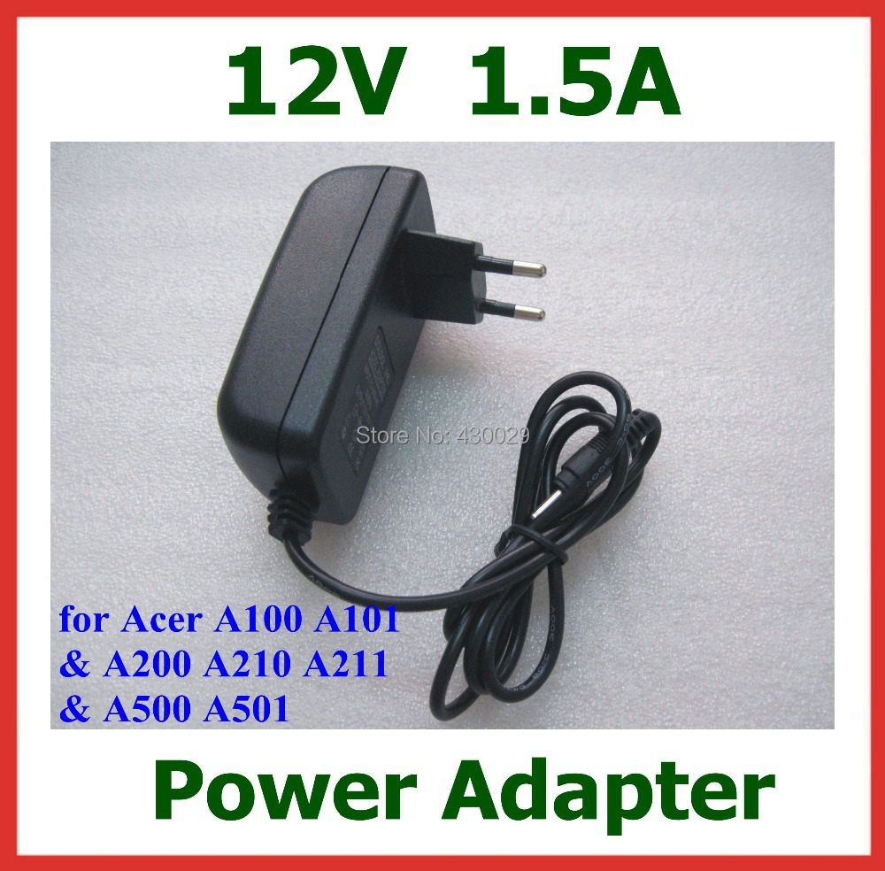 12V 1.5A Tablet Battery Charger for Acer Iconia Tab W3 W3-810 Aspire Switch10 A100 A200 A210 A211 A500 A501 for lenovo Miix2 10(China (Mainland))
