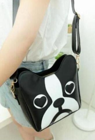 new 2015 shoulder bag dog bag cartoon bag women's handbag school bag Free shipping(China (Mainland))