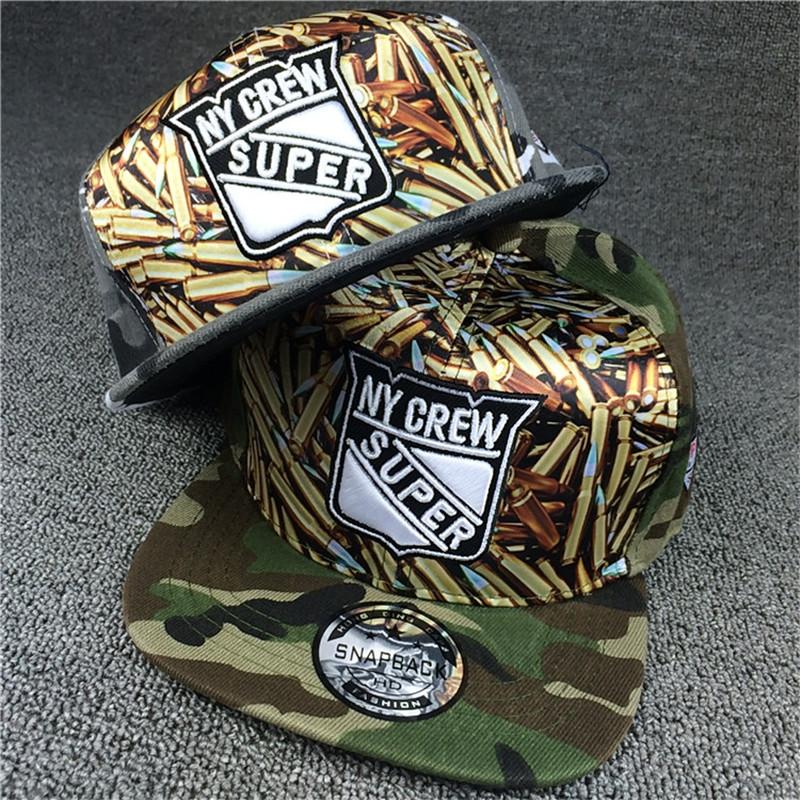 2016 ball bone camouflage gorras snapback baseball caps ny crew super hats for men women(China (Mainland))
