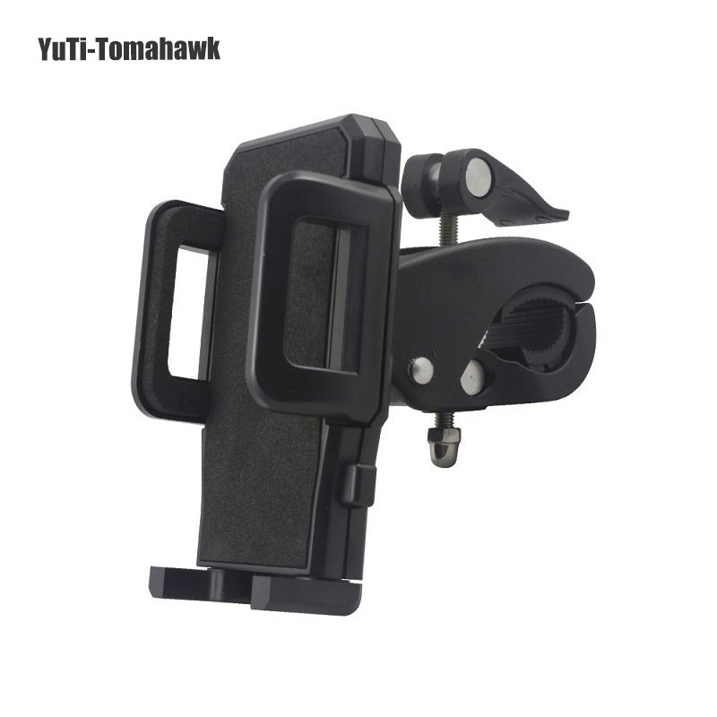 Universal Bicycle Bike Phone Mount Clip Holder Cycling Motorcycle Cradle Stand Cell phone/GPS ! - YuTi-Tomahawk store