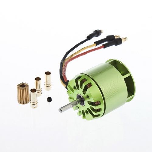 Electric 450 none brush motor 3d motor none 450kv4000 brush motor 450 green motor(China (Mainland))