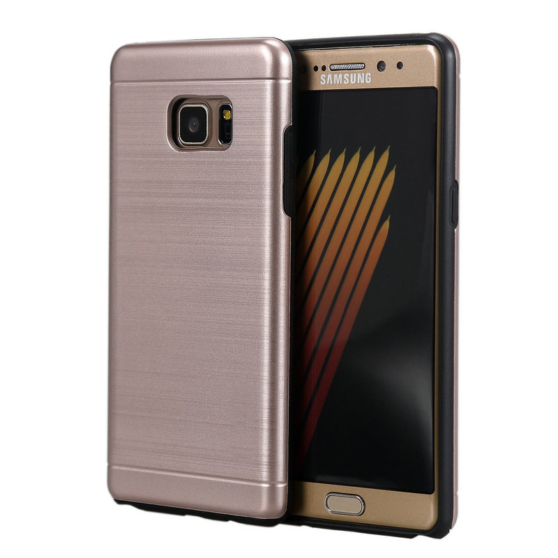 Note 7 Case Brushed PC + TPU Cases for Samsung Galaxy Note 5 Tough Armor Layered Slim Armor Cover(China (Mainland))