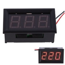 FW1S YB27A LED AC 60-500V Digital Voltmeter Home Use Voltage Display w/ 2 Wires