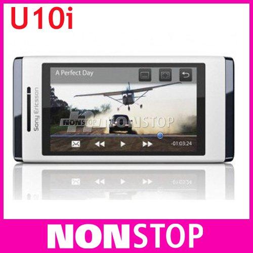 U10i Original Sony Aino u10 3G 8.1MP WIFI GPS U10 Bluetooth Unlocked Mobile Phone One Year Warranty(China (Mainland))