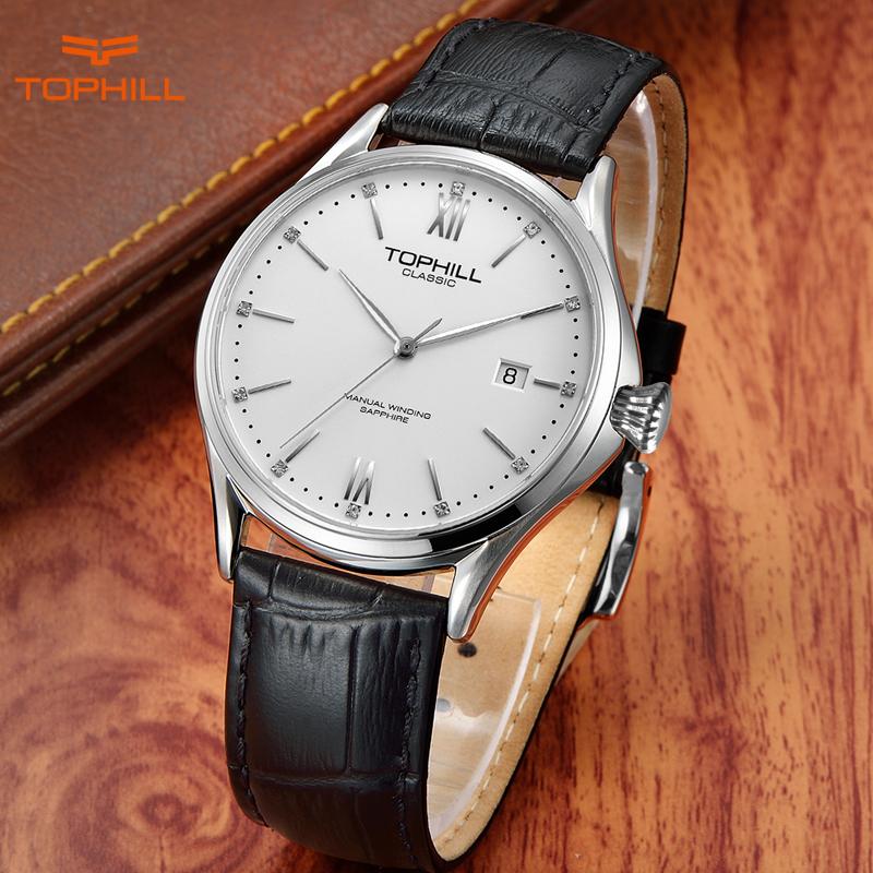 Tophill Swiss Brand Men's Mechanical Wristwatches Classic Automatic Self Wind 2016 Men Fashion Wrist Watches orologio uomo(China (Mainland))