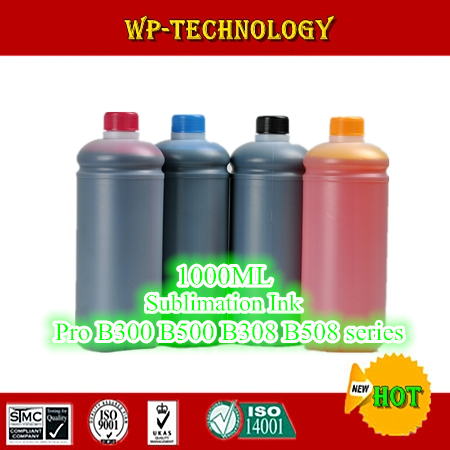 1L*4 pcs Sublimation ink suit for Epson Pro B300 B500 B308DN B508DN , suit for T6161-T6164 , T6251-T6254 ,4000ml Total
