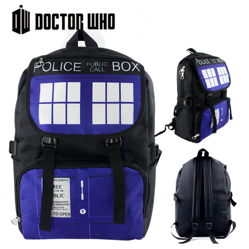 High Quality Doctor Who TARDIS Police Box Waterproof Printing Military Backpack for Teenage Girls School Bags for Teenagers<br><br>Aliexpress