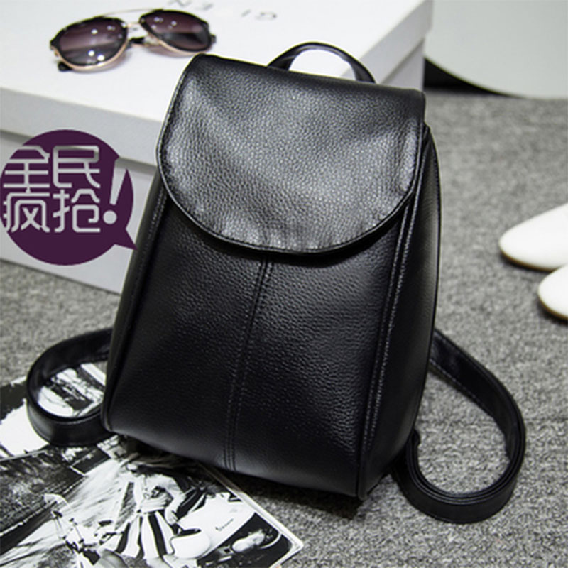 Timed Hot sale new fashion PU girls backbag preppy style young lady school bag travelling shoulder bag quality casual backbag(China (Mainland))