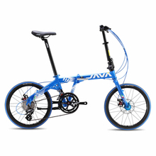 New High Quality JAVA 20-inch Alloy Double Disc Brake Folding Bike 16 Speed(China (Mainland))