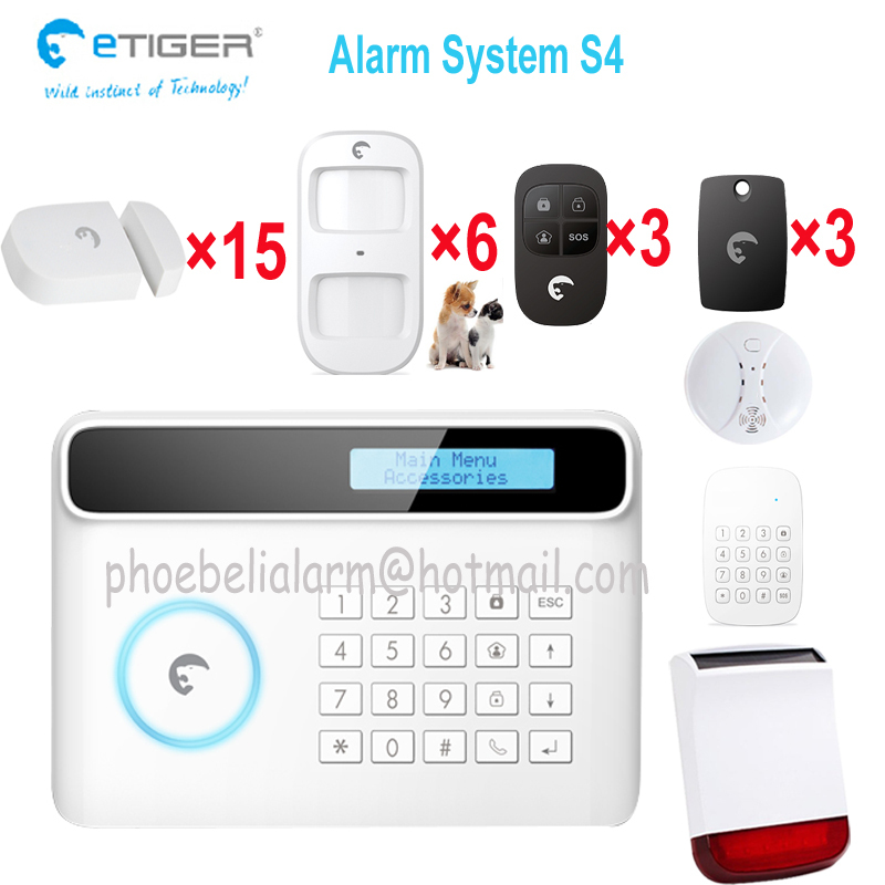 Addressable gsm alarm 10 zone named sistema de alarma gsm know where the intruder is(China (Mainland))
