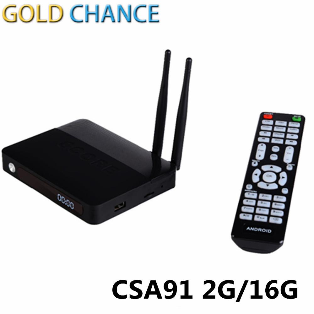CSA91 Android 5.1 TV Box Kodi Set Top Box TV Box RAM 2GB Flash 16G Chipset RK3368 WIFI Bluetooth 4.0 Built-in MIC<br><br>Aliexpress
