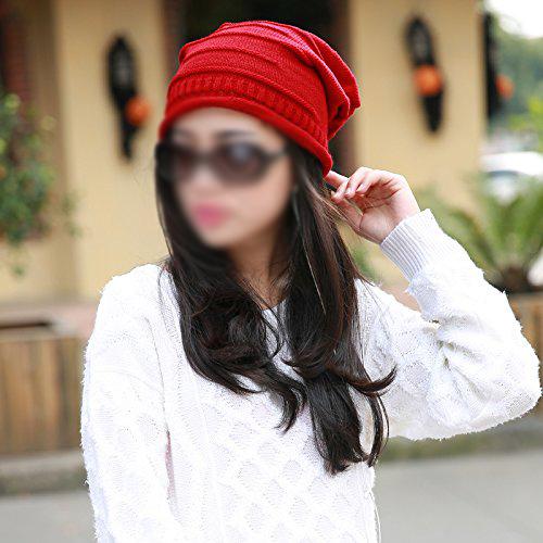 Гаджет  SZS Hot Winter fuchsia hats women Woolen knitted hat Beanie Crochet WaWinter Hat None Изготовление под заказ